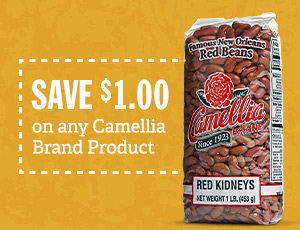 Save $1.00 on any Camellia Brand Product