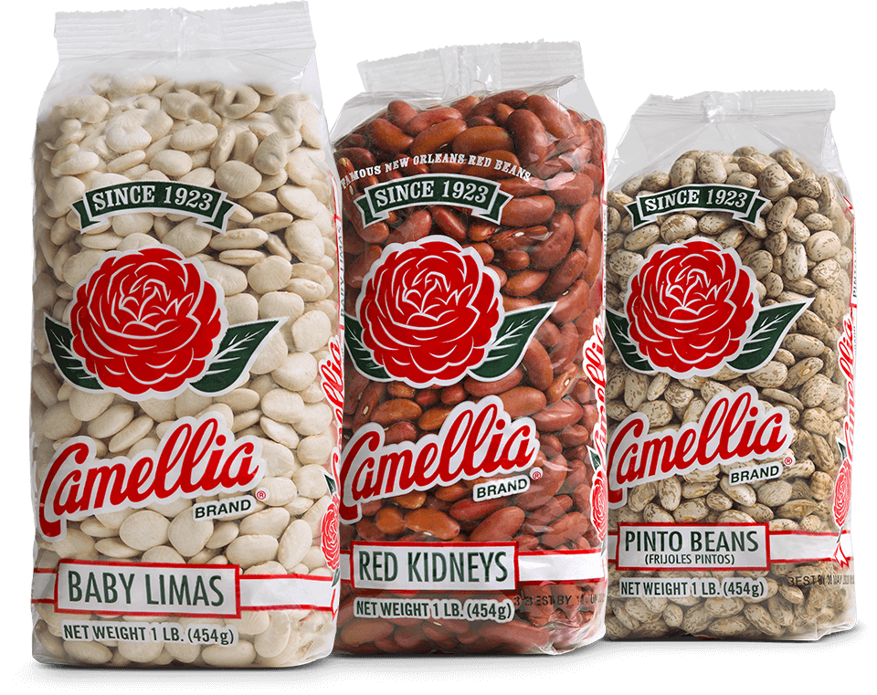 Camellia brand veans, peas, and lentils