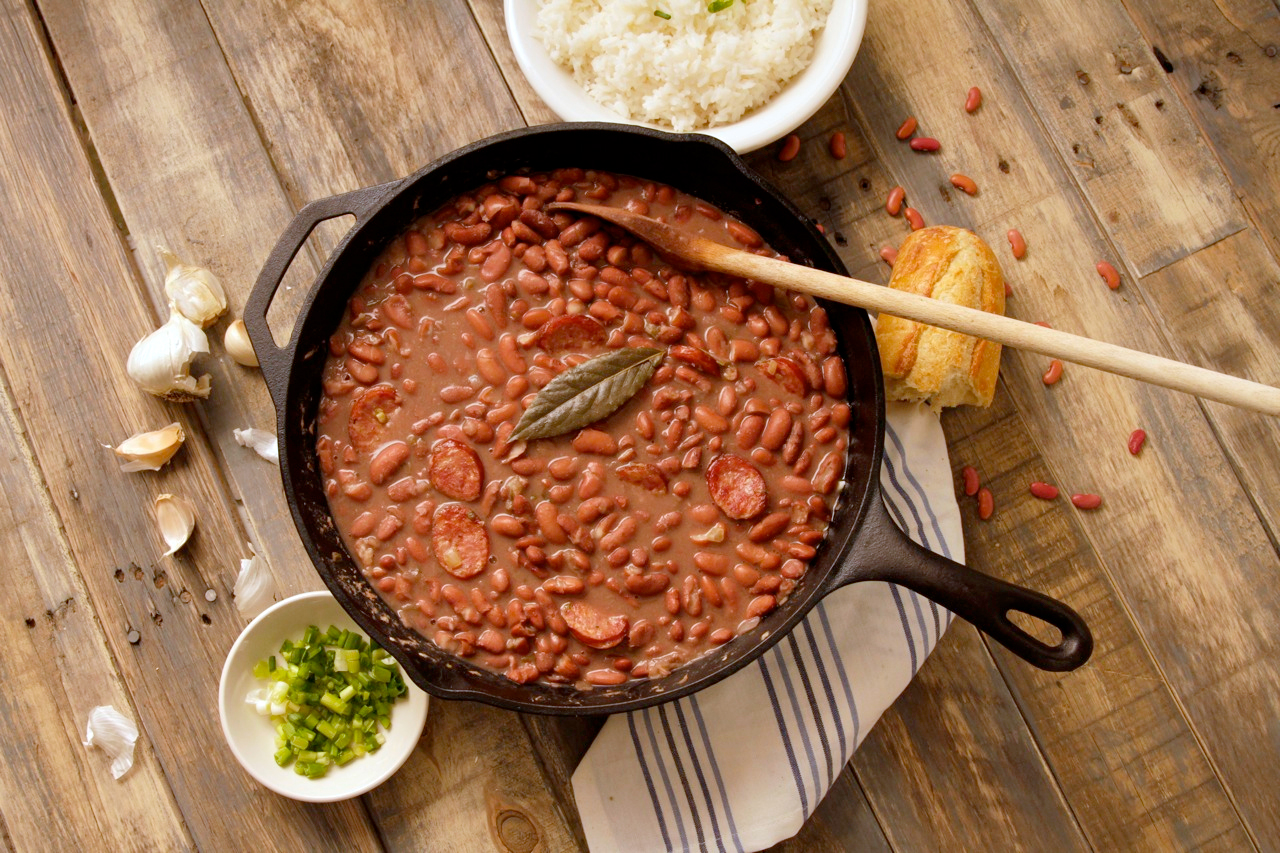 Camellia S Famous New Orleans Style Red Beans And Rice Recipes Camellia Brand