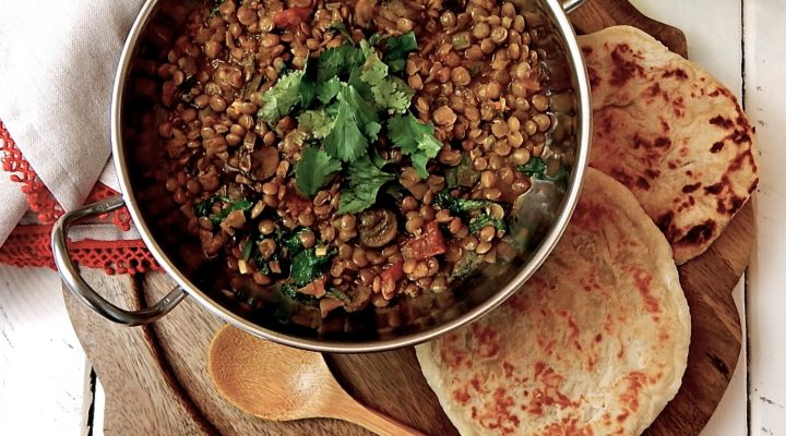 veggie lentils