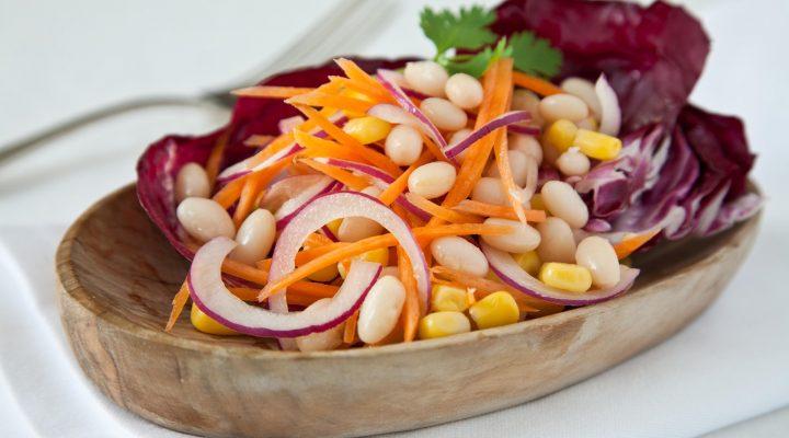 Corn and Navy Bean Salad