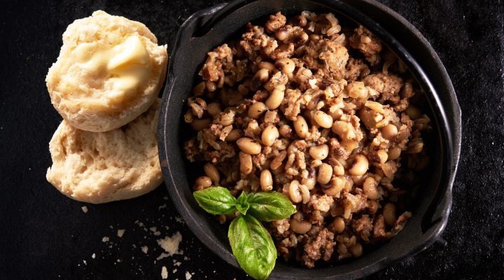 New Year's Day Blackeye Pea One-Pot Meal