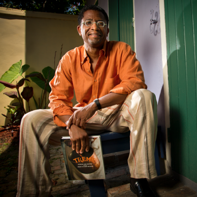 Lolis Eric Elie Portrait With Treme Book