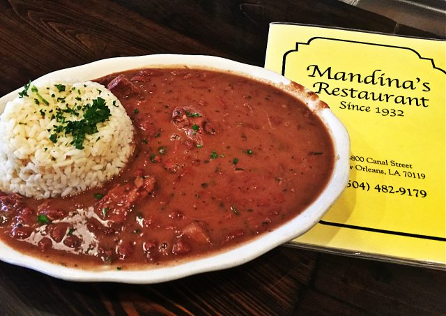 Mandina's Restaurant Red Beans
