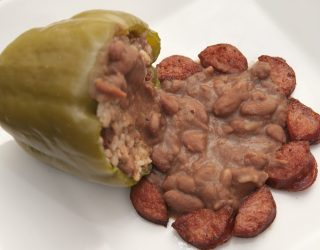 New Orleans-Style Stuffed Peppers from ProStart Contest