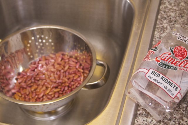 Rinsing Beans Monica Mingo