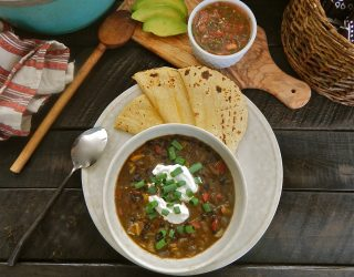 Tex-Mex Black Bean Soup