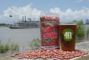 Camellia Red Beans and 40 Arpent with Steamboat