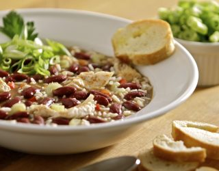 Creole Chicken and Red Bean Gumbo