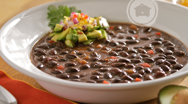 Slow Cooker Chipotle Black Bean Soup