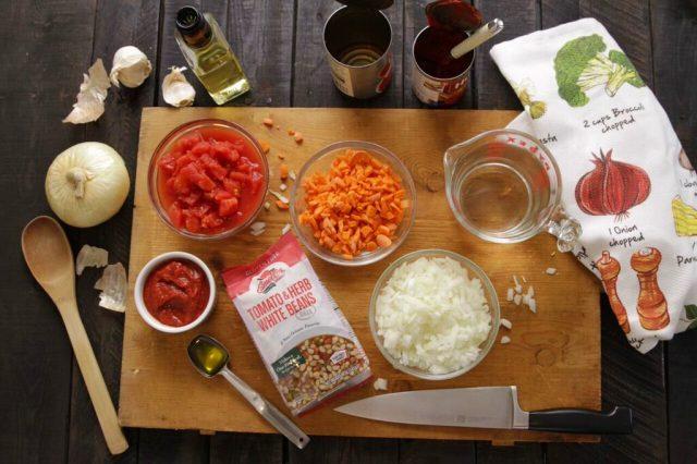 Camellia Tomato & Herb White Beans Mix
