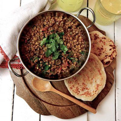 Easy Vegan Coconut Curry Lentils
