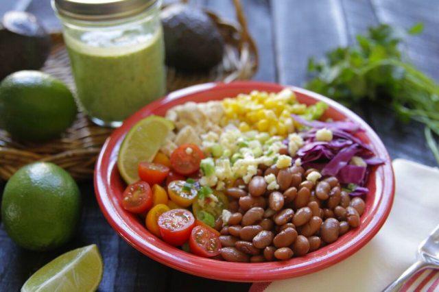 Pinto Bean Burrito Bowl