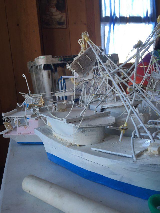 Isleno Museum Boat Models