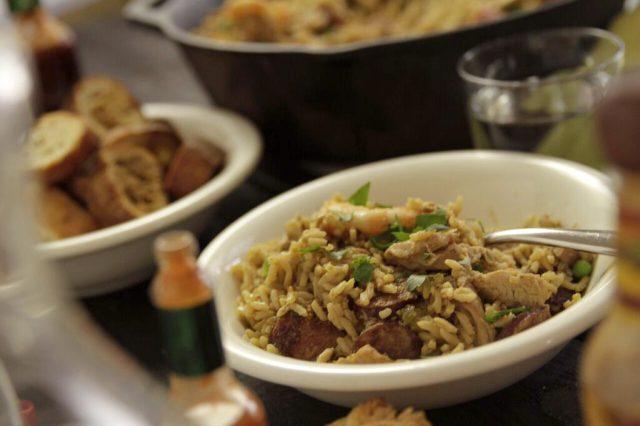 Cajun-Style Jambalaya that feeds a crowd