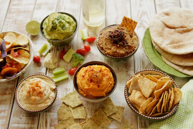 Homemade Hummus from Camellia - Cool, Creamy, & Colorful