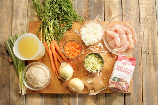 Creole_Chicken_and_Red_Bean_Gumbo_ingredients
