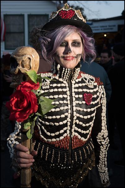 Dead Beans Parade Costume Girl