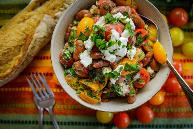 Red Bean Mediterranean Salad
