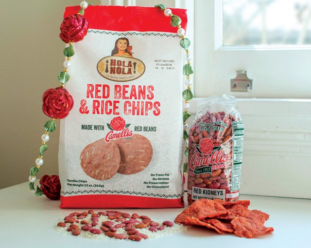 Hola Nola Red Beans and Rice Chips