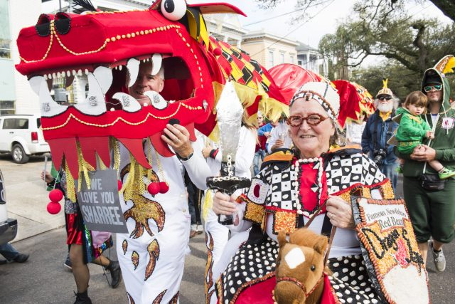 Red Lion Halloween Parade 2020 Lundi Gras 2020: The Red Beans and The Dead Beans Parades