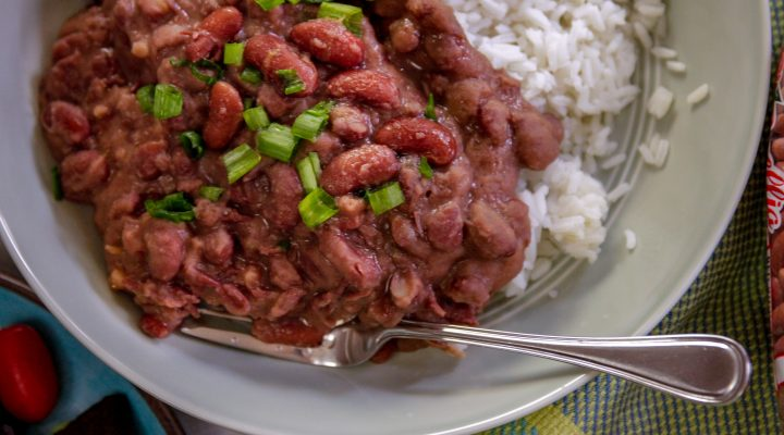 red beans close up