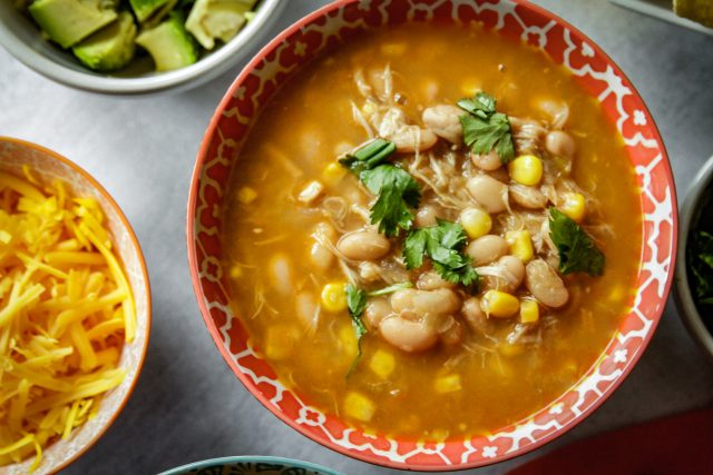 Instant post chili soup