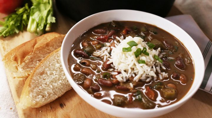Hearty Louisiana-Style Vegan Gumbo