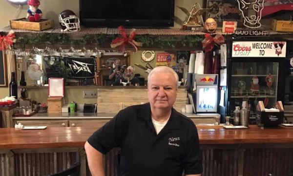 Chris Belvin, owner of News Restaurant.