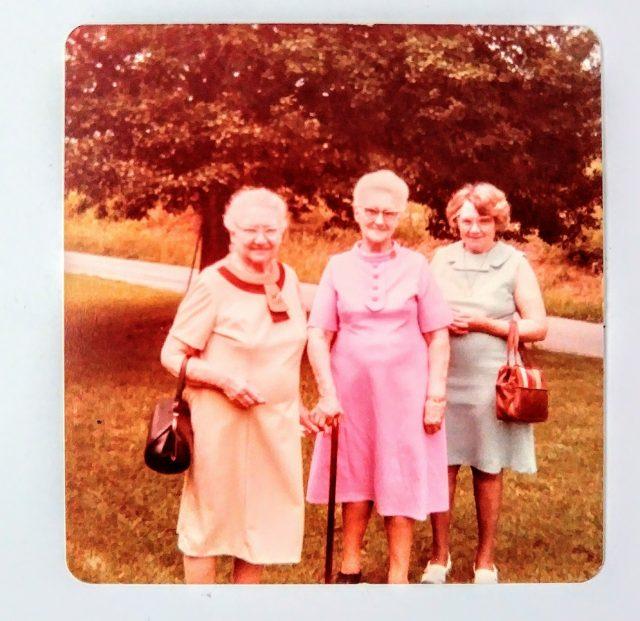 Etta Sullivan, Lily Taylor, and my grandma Nellie Sullivan.