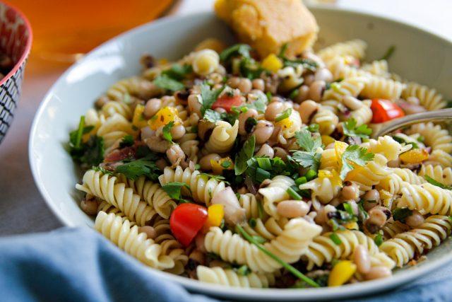 Pasta with Bean Salad