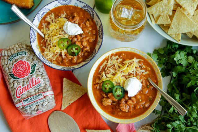 Instant Pot Pinto Bean Chili
