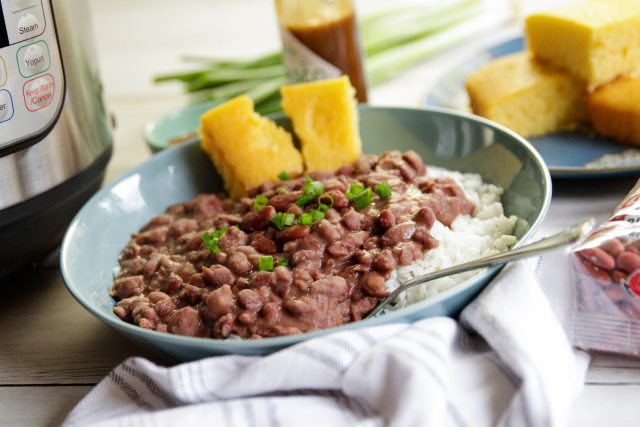 Instant Pot New Orleans-Style Red Beans & Rice