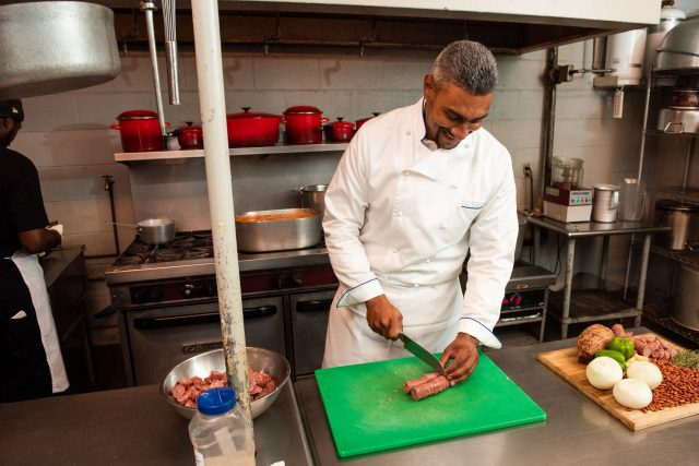 Edgar Chase IV is honored to carry on Chef Leah's legacy