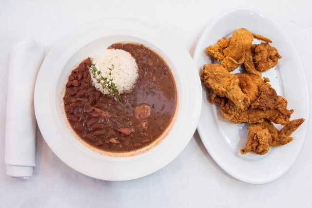 Red Beans and Rice at Dooky Chase's Restaurant